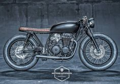 1978 Honda CB550 Cafe Racer by Ironwood Custom Motorcycles #caferacer #bratstyle