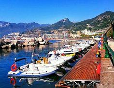 Набережная Салерно, Италия. #италия #салерно #экскурсии
