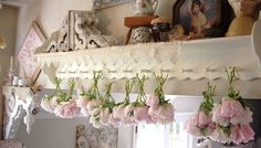 drying peonies by skblanks, via Flickr - OH - to grow enough of them to have so many for drying!!!! :-)