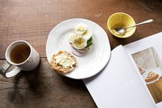 Egg Sandwich using an English Muffin | recipe from Simply Breakfast