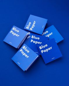 BLUE PAPER POST-IT Ader, Visual Identity, Typography, Layout, Cards Against Humanity, Graphic Design, Mood, Bigbang, Blue