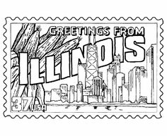 Ohio State Seal Coloring page Ohio Pinterest Coloring pages