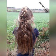Inspired by the amazing @n.starck  but mines a bit messy  wind was blowing too .  #englishcountryside  #randombraid  #cutegirlshairstyles #cutehairstyles #braids #braidsforgirls #braidsforlittlegirls #instahair #instastyle #longhair #hairposts #hairpics #hairforyou #hairfashion #hairandstyles #hairstyle #braids #braidphotos #bestofhair #schoolhairstyles