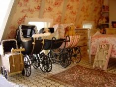 These prams are gorgeous!