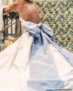 *something blue bow* reem acra