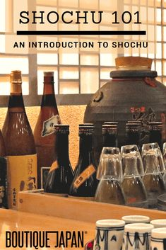 What are the differences between shochu and sake? Today shochu expert Yukari Sakamoto joins us to talk shochu, Japan's favorite distilled liquor. Japanese Bar, Japanese Culture, Fun Drinks, Alcoholic Drinks, Beverages, Cocktails, Japan Travel Tips, Asia Travel, Cherry Season