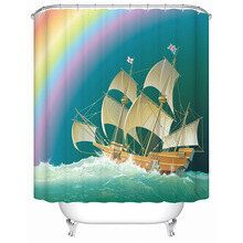 tende in 3 D SHOWER CURTAIN di peopleartmyself su Etsy