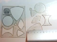 how to make your own stencils using shrinky dink plastic