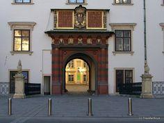 Swiss Gate ('Schweizertor') in Vienna, Austria