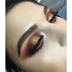 Beautiful look BROWS: in Medium Brown EYES: Modern Renaissance Palette and added pigment Golden Sweetness✨ in Goddess Pigment ✨ Makeup Goals, Love Makeup, Makeup Inspo, Makeup Art, Makeup Inspiration, Makeup Tips, Beauty Makeup, Makeup Ideas, Beauty Bar