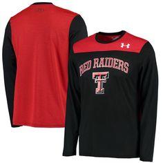 Texas Tech Red Raiders Under Armour Foundation Tech Performance T-Shirt - Black