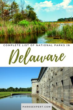 Did you know there is only 1 national park in Delaware? Click here for the list, including things to do and how to get there. Plus, download my free checklist! | national parks in Delaware | Delaware national parks Sequoia National Park, Yellowstone National Park, National Parks, Amazing Destinations, Travel Destinations, Delaware, Travel Pictures, State Parks, Places To See