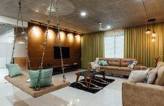 Navpad – Pavan Infratech - All About Balcony Living Room Designs India, Living Room Sofa Design, Indian Living Rooms, Home Room Design, Living Room Modern, Living Room Interior, Home Interior Design, Design Bathroom, Living Area