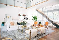 """Click to tour the dreamy Denver home of newlyweds Brian and Simona Wohlner. This one will convince you that """"open concept"""" is the way to go!"""