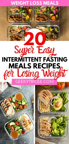 Interested in losing weight with intermittent fasting? These are 20 low carb meal prep recipes for beginners looking to start right with intermittent fasting. Improve your results with these recipes a Low Carb Meal, Healthy Meal Prep, Healthy Eating, Keto Meal, Ketogenic Recipes, Low Carb Recipes, Diet Recipes, Healthy Recipes, Dessert Recipes