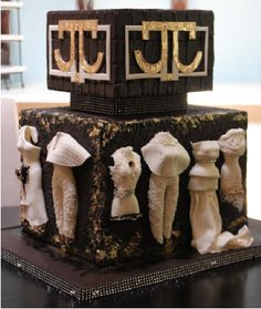 fashion  inspired cake - by Joshua Russell..............so talented