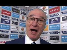 cool Manchester City 1-3 Leicester - Claudio Ranieri Post Match Interview