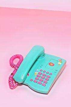 80s Girl Pastel Neon Phone