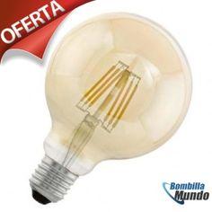 #Eglo bombilla globo 95mm #Iluminación #vintage profesional-hogar al mejor precio, solo