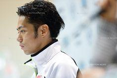 Daisuke Takahashi (JPN), .NOVEMBER 23, 2012 - Figure Skating : Daisuke Takahashi of Japan during the press conference after the ISU Grand Prix of Figure Skating 2012/2013 NHK Trophy Men's Short Program at Sekisui Heim Super Arena Grande21, Miyagi, Japan. .(Photo by AFLO)
