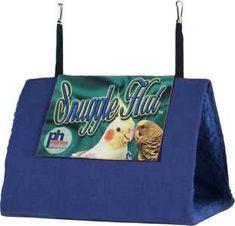 Snuggle Hut Bird Bedding - Prevue Pet - Medium Size for Conures, Tiels, Caiques Small/Medium Parrots
