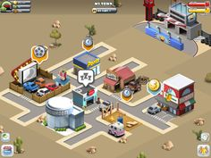 Car Town Streets App by Cie Games
