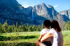 Yosemite é paragem obrigatória para quem viaja pela Califórnia!Yosemite National Park fazia parte dos nossos planos e sem duvida que não nos arrependemos, bem pelo contrári… Rafting, Yosemite National Park, National Parks, Mountains, Blog, Travel, Canoeing, Woodland Forest, Nature