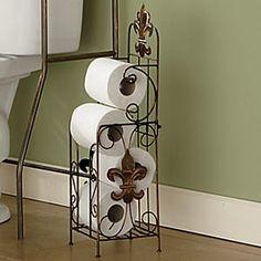 Fleur De Lis Bathroom Decor / Black Wrought Iron By Theshabbyshak, $34.00 |  House   Maggie U0026 Drewu0027s Room | Pinterest | Wrought Iron, Iron And Storage