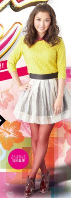 ♥石川梨華♥ (貼圖-石川)「KICONA キコーナ」代言廣告4