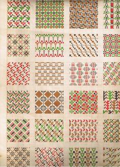 Raksti - A K - Álbuns da web do Picasa Cross Stitch Geometric, Cross Stitch Borders, Cross Stitch Patterns, Beginner Knitting Projects, Knitting For Beginners, Knitting Charts, Knitting Stitches, Fair Isle Chart, Swedish Weaving