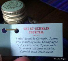 St. Germain Cocktail Recipe