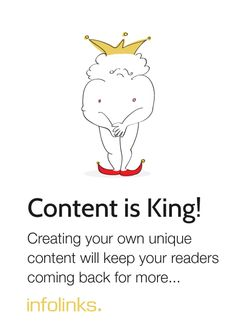 Optimization tip 6: Content Reigns! #InfolinksCountdowntoOptimization