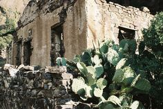 Ruins of Dripping Springs Hotel, Las Cruces, New Mexico