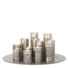 Buy Eichholtz Marrakech Tea Light Tray - Large online with Houseology's Price Promise. Candle Tray, Candles And Candleholders, Candle Lanterns, Candlesticks, Candle Holders, Candelabra, Find Furniture, Furniture Decor, Marrakech