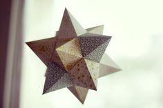 tutoriel etoile de noel en papier #deconoel #decorationnoel