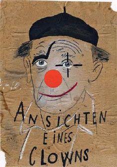 Heinrich Böll  - The Clown, a favorite