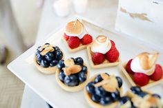 Strawberry & Blueberry Deserts perfect for 4th of july