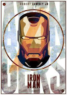 Robert Downey Jr. -Iron Man.........