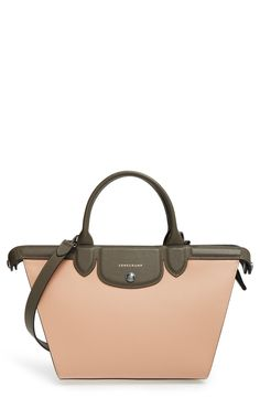 765825fca395 Free shipping and returns on Longchamp  Le Pliage - Heritage  Leather  Handbag at Nordstrom