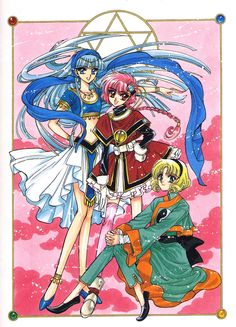 Magic Knight Rayearth anime#RightStuf2013
