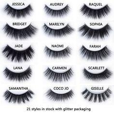 20 styles Visofree Mink Eyelashes Mink collection 3D Dramatic Fake Eye Lashes Makeup Mink EyeLashes