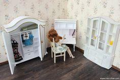 Handmade OOAK doll furniture in 1/6 scale (Blythe, Barbie, Momoko)