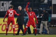 Douglas Costa scored a stunning winner as Bayern Munich won 1-0 at Darmstadt to seal their return to the top  Source