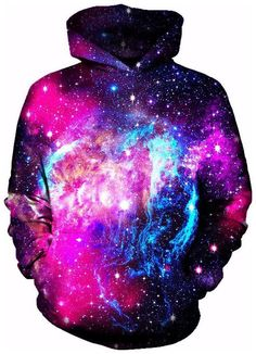 Trance State Hoodie - Sweat Shirt - Ideas of Sweat Shirt - Trance State Hoodie Rave Outfits, Cool Outfits, Ärmelloser Pullover, Hoody, Galaxy Outfit, Galaxy Hoodie, Galaxy Fashion, Men's Fashion, Pink Galaxy