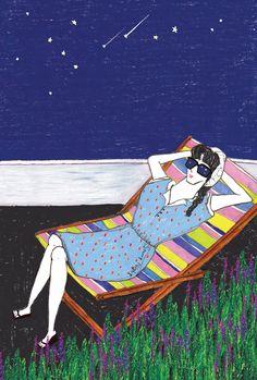 Flat Illustration, Digital Illustration, Pretty Drawings, Love Fashion, Novels, Scrapbook, Stars, Canvas, Creative