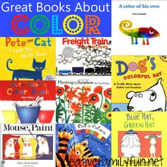 10 Picture Books About Colors | Books, Black books and James dean