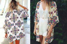 Aztec Print Kimono! - Main Photo http://www.groopdealz.com/invite/886283