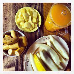 Yellow healthy food!