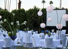 Great, simple setup for a gala/corporate event
