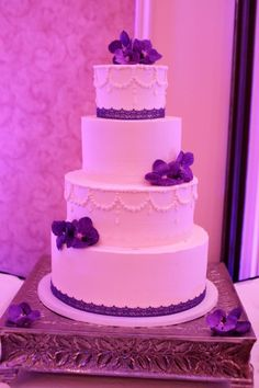 our wedding cake   thanks for the flowers Twisted Willow  cake made by: @The Merion